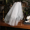 Fashion Accessories Classical Western Style Short White Wedding Veils