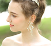 Handmade Bridal Metal Flower Hair Accessories Clip