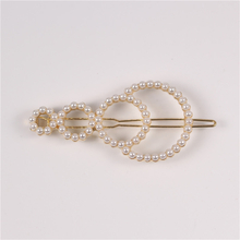 Lovely Handmade New Designs Fashion Hair Pins Bridal Pearl Hair Clip