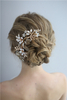 Party Jewelry Hair Accessories Beautiful Bridal Wedding Hair Clips