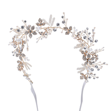 Hair Accessories Rhinestones Crystal Tiaras Bridal Wedding Headpiece For Women
