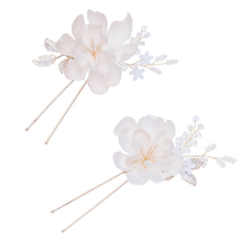 New Design Handmade Flower Design Bridal Headwear Jewelry Wedding Women Hair Pins