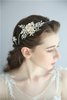 Flower Tiara Hair Jewelry Bride Rhinestone Crystal Beauty Pageant Crown