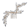 Exquisite Luxury Pearl Flower Hair Pin Wedding Hair Accessories Bride Gold Hair Clips