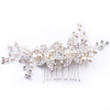 Crystal Hair Pin Handmade Flower Pearl Bridal Headpieces Hair Clip For Girl