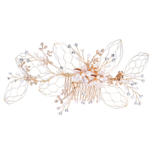 Bride Crystal Hair Accessories Wedding Women Bridal Hair Combs