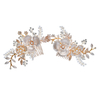 Bridal Accessories Jewelry Wedding Crystal Opal Flower Women Hair Combs