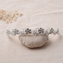 Eco-friendly Material Handmade Elegant Bridal Jewelry Sets Bride Crown Wedding