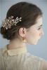 Wedding Hair Pin Handmade Gold Hair Clip Sets Rhinestone Hair Clips For Girls