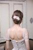 Beautiful Design Chiffon Flower Hair Accessories Headdress Bridal Wedding Hair Combs