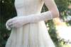 Wedding Accessories Romantic Outdoor Simple Flower Gloves Bridal Veils