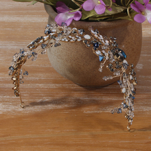 Fashionable Full Zircon Princess Crystal Crown Bridal Tiara Wedding