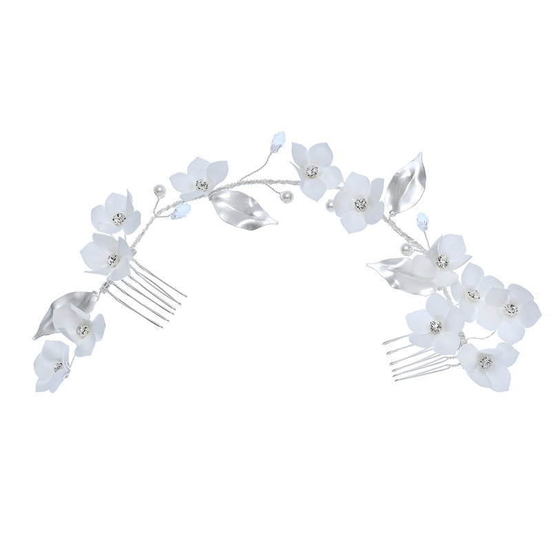 New Beautiful Wedding Crystal Hair Accessories Bridal Side Hair Combs