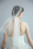 Wedding Bride Hair Accessories Simple Flower Beautiful Elegant Charming Women Veils