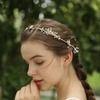 Handmade Hair Vine Rhinestone Hairband Crystal Flower Wedding Headpiece