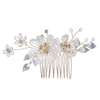 Delicate Zinc Alloy Hairpins Haircombs And Earrings Wedding Bridal Jewelry Sets